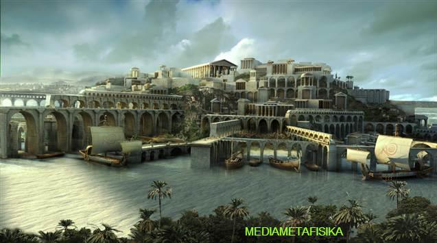 Com Misteri Wentira Kota Gaib Yang Dipercaya Warisan Benua Atlantis