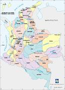TAREA DE SOCIALES 2A: Dibuja el mapa de Colombia y su división política. (mapa politico)