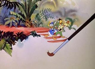Donald e Zé Carioca em cena de Aquarela do Brasil