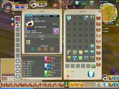 FairyLand 2 Online - Sesame Mouse