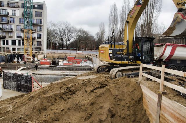 Baustelle Neubau, artisengineering, UTB, Kapall, Columbiadamm 33, 10965 Berlin, 11.03.2015