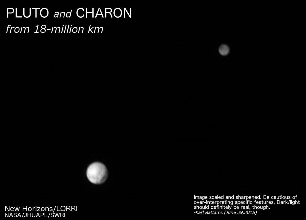 Plutone come non l'abbiamo mai visto, grazie a New Horizons
