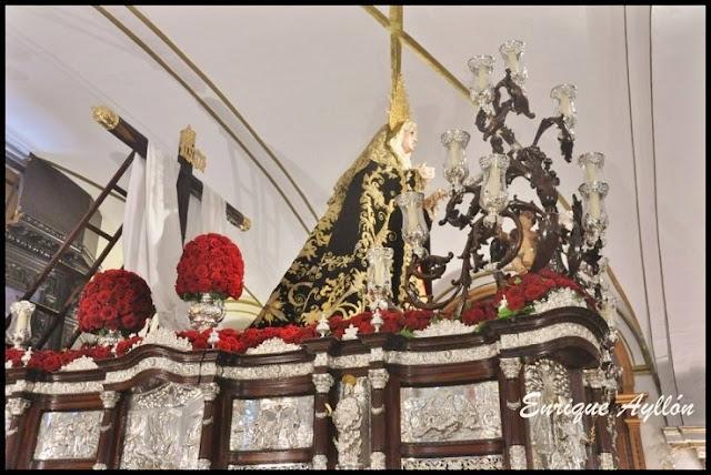 Paso de la Soledad de San Buenaventura Sevilla 2013