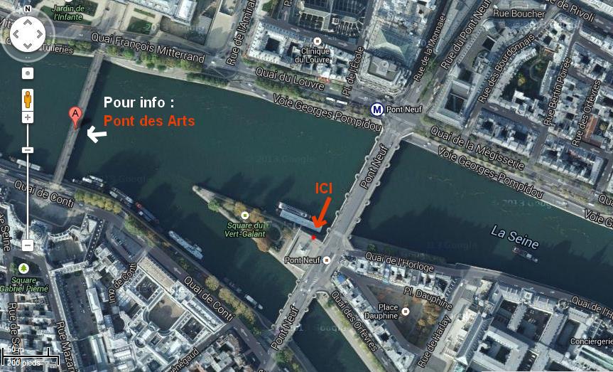 Chroniques en s rie parks and recreation d couvrez le vrai cadenas de lesl - Pont des cadenas paris adresse ...