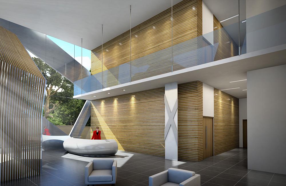 perspectives de bureaux au congo mig3d architecture. Black Bedroom Furniture Sets. Home Design Ideas