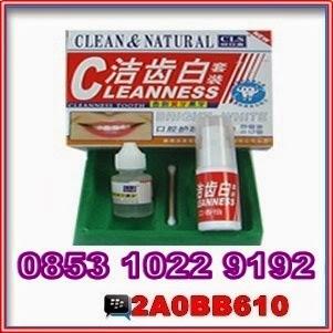 Kosmetik Obat Kuat Pemutih Gigi Alami Clean And Natural
