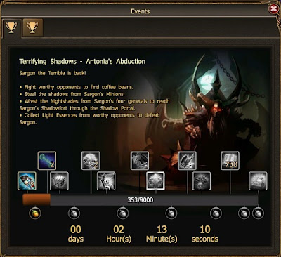 Drakensang Online - Event Awful Shadow