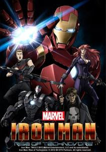Iron Man – La rebelion del technivoro (2013) Online