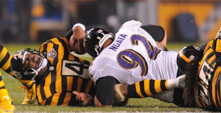 Injured Steelers quarterback Byron Leftwich