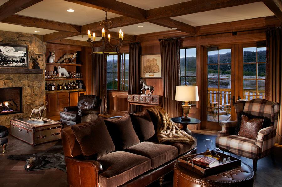 decoracion interior de quinchos rusticos : decoracion interior de quinchos rusticos:ESTILO RUSTICO: Rancho Rustico en USA