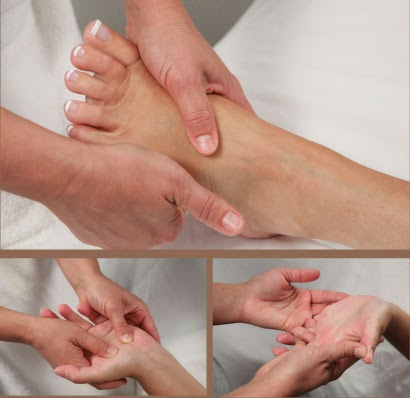 What is Hand and Feet Massage