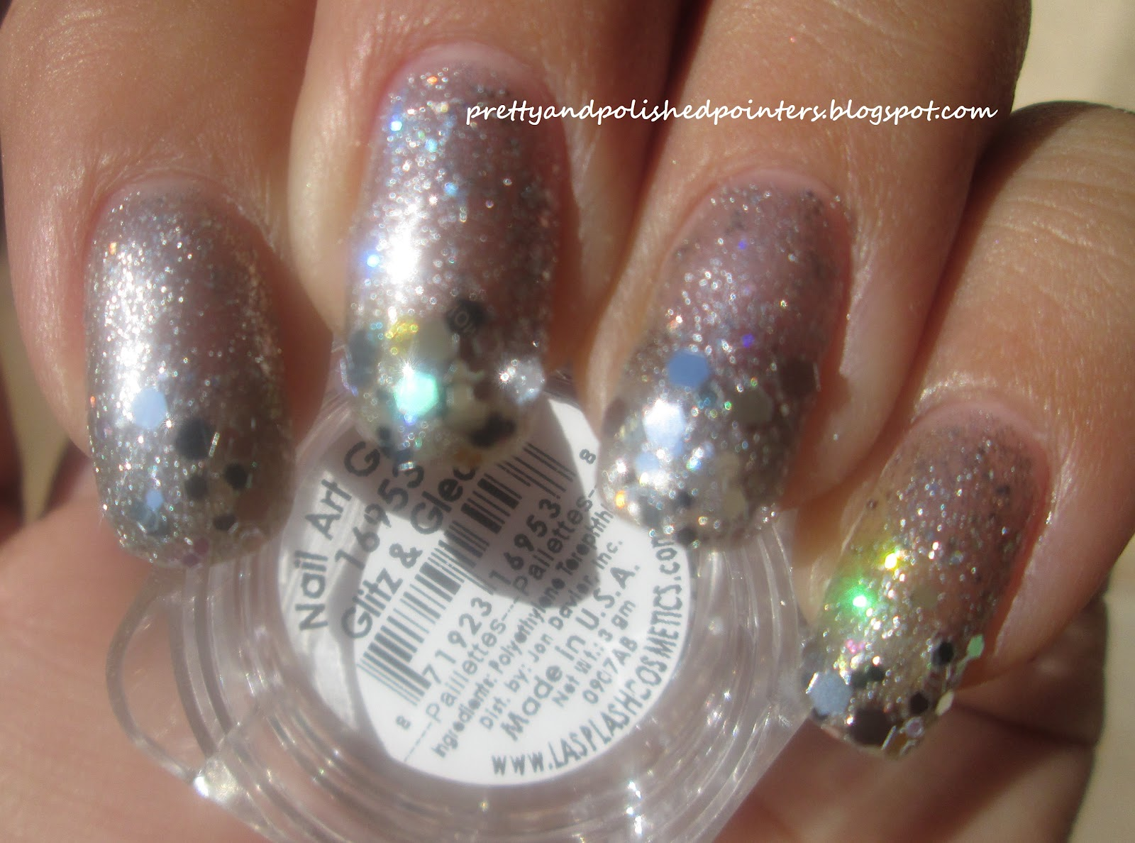 Displaying Images For - Glitter Solar Nails...