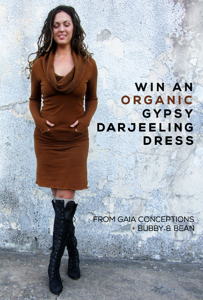 GIVEAWAY // Win An Organic Gypsy Dress From Gaia Conceptions and Bubby and Bean!