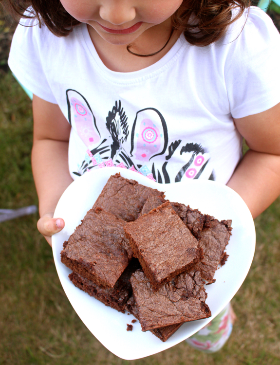 Receta: Brownies de Nutella. 3 Ingredientes! www.soyunmix.com
