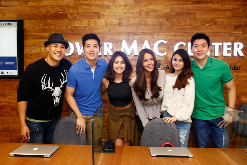 Power Mac Center brand ambassadors