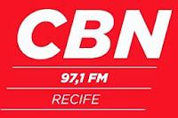 Rádio CBN FM da Cidade de Recife ao vivo