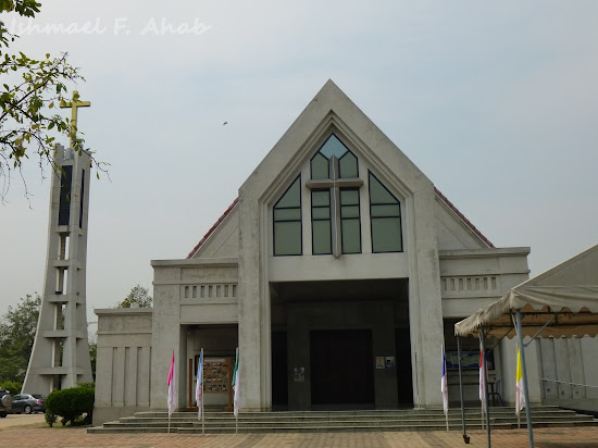Our Lady Mother of God Parish Church in Rangsit, Pathumthani, Thailand