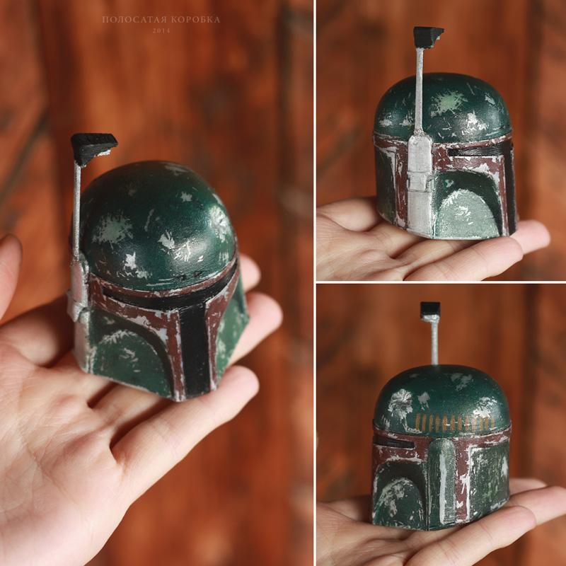 3D-печать шлем Бобы Фетта «Звездные войны»