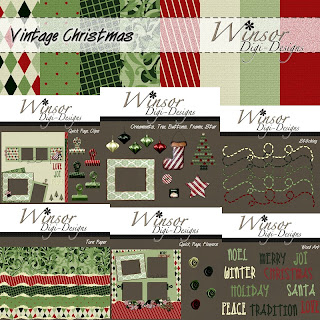 Vintage Christmas and Freebies
