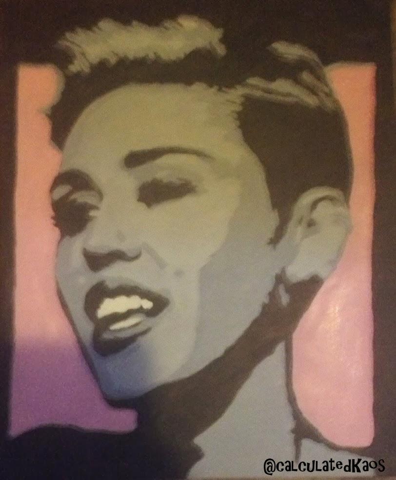 Miley Cyrus freche Mädchen
