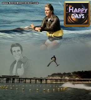 fonzie happy days jump shark montage photo