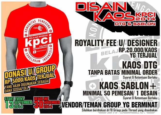 Desain Kaos KPCI