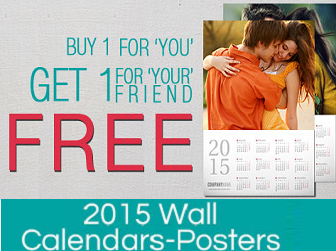 Printvenue: Buy Customized Wall Calendar 2016 at Flat Rs. 100 OFF : BuyToEarn