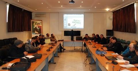 أكاديمية مكناس تافيلالت: ورشة التقاسم و التعميق و التصويب في مجال TICE