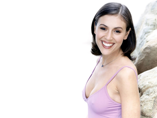 Alyssa Milano HD Wallpaper -02
