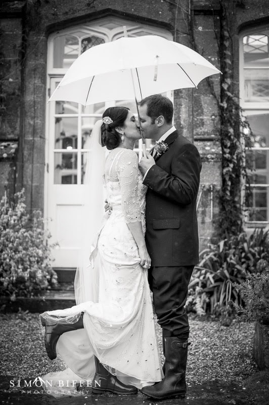 Wedding photography at St Audries Park Somerset