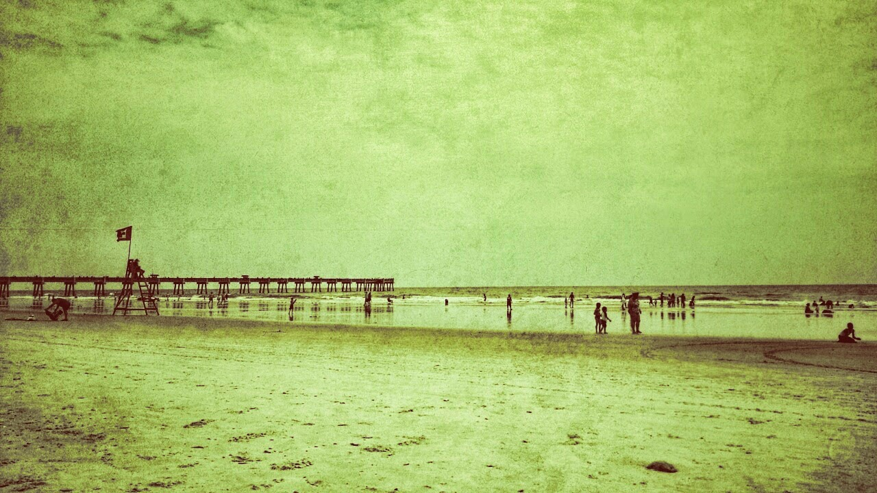 ALM Photo, Lisa Mueller, Jacksonville Beach, beach, pier