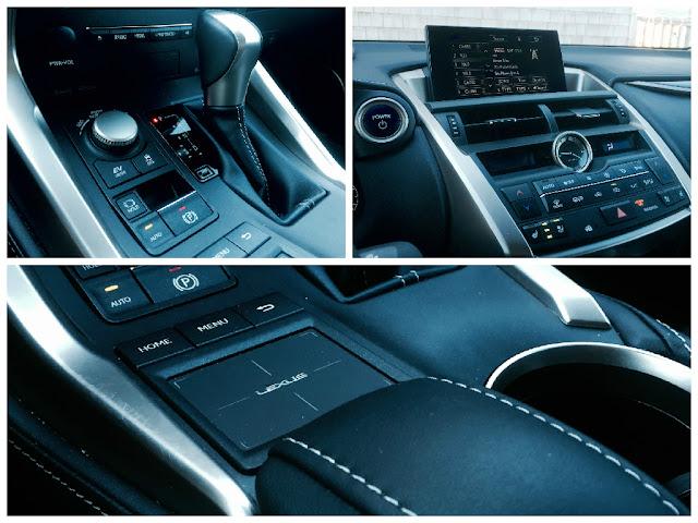 2015 Lexus NX300h touchpad