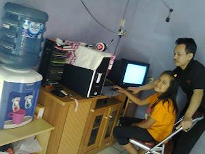 Bersama anak