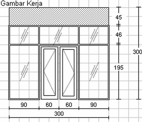 Doorframe & Window Sills Design - Disain Kusen Jendela dan