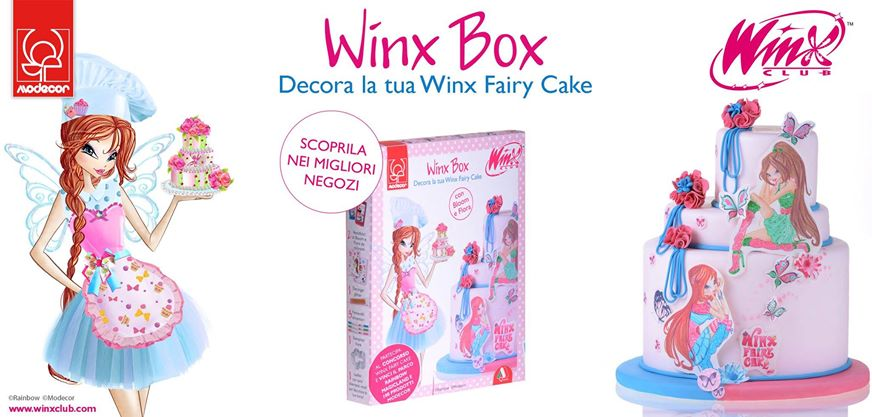 set para decorar tus tartas con el winx club winx club all