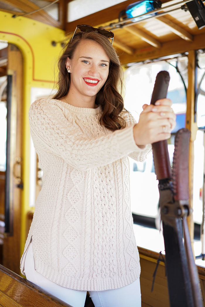 San Francisco Cable Car in Neutrals | Covering the Bases | Fashion ...