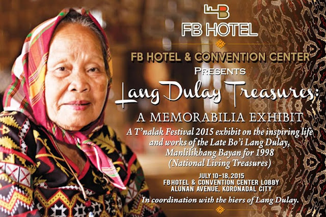 Lang Dulay Treasures exhibit
