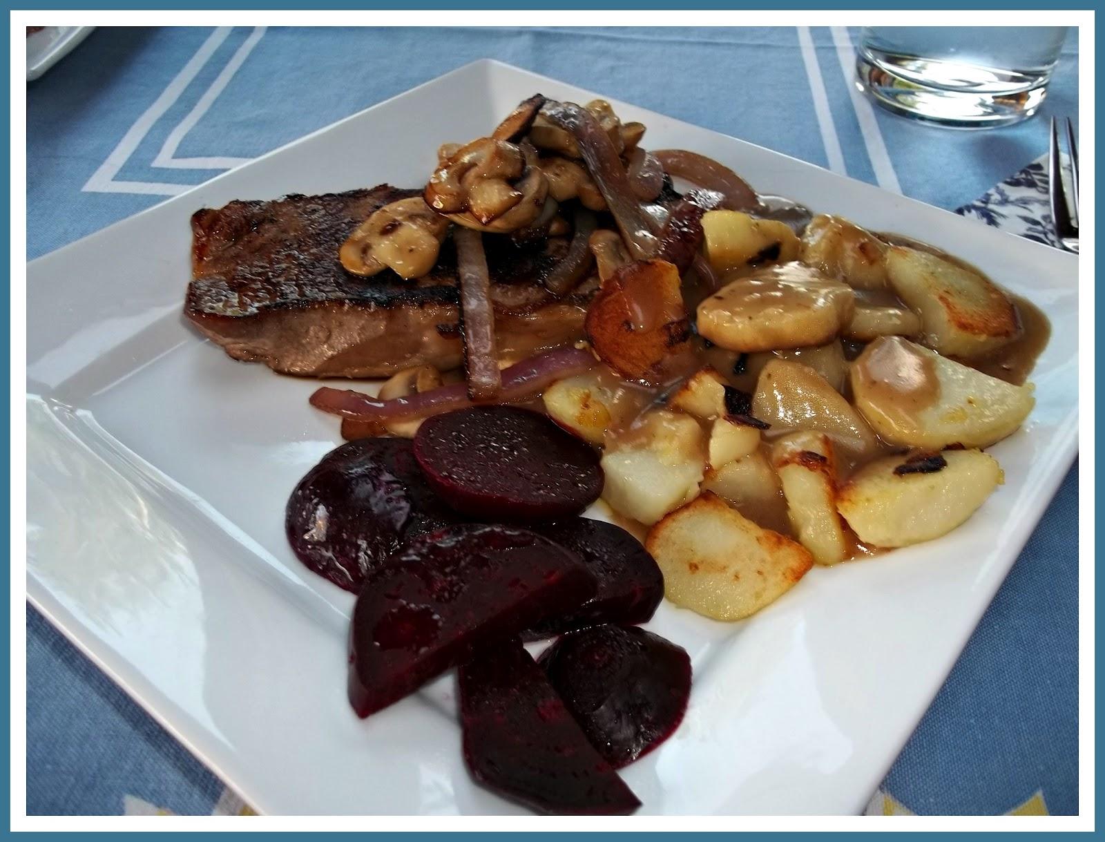 dinner at julie's: Pan-Fried Steak