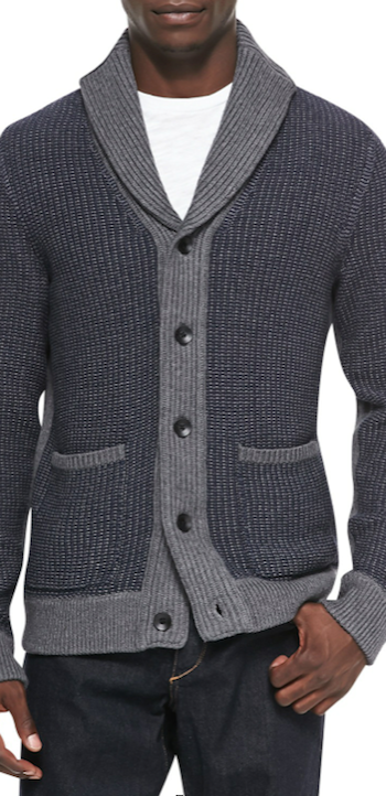 Rag & Bone Asher Cardigan, Navy