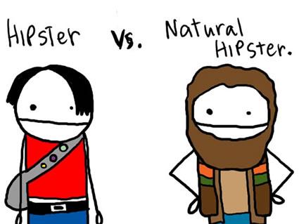 Hipster Cartoon