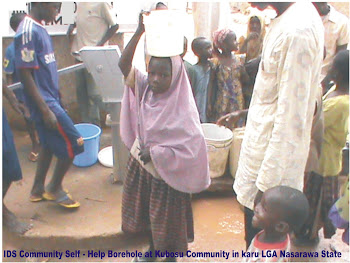 IDS Community Self-Help Water and Sanitation Project at Kubosu Community