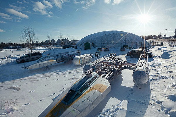 Star Wars Scale Model Project: Photos by Vesa Lehtimaki