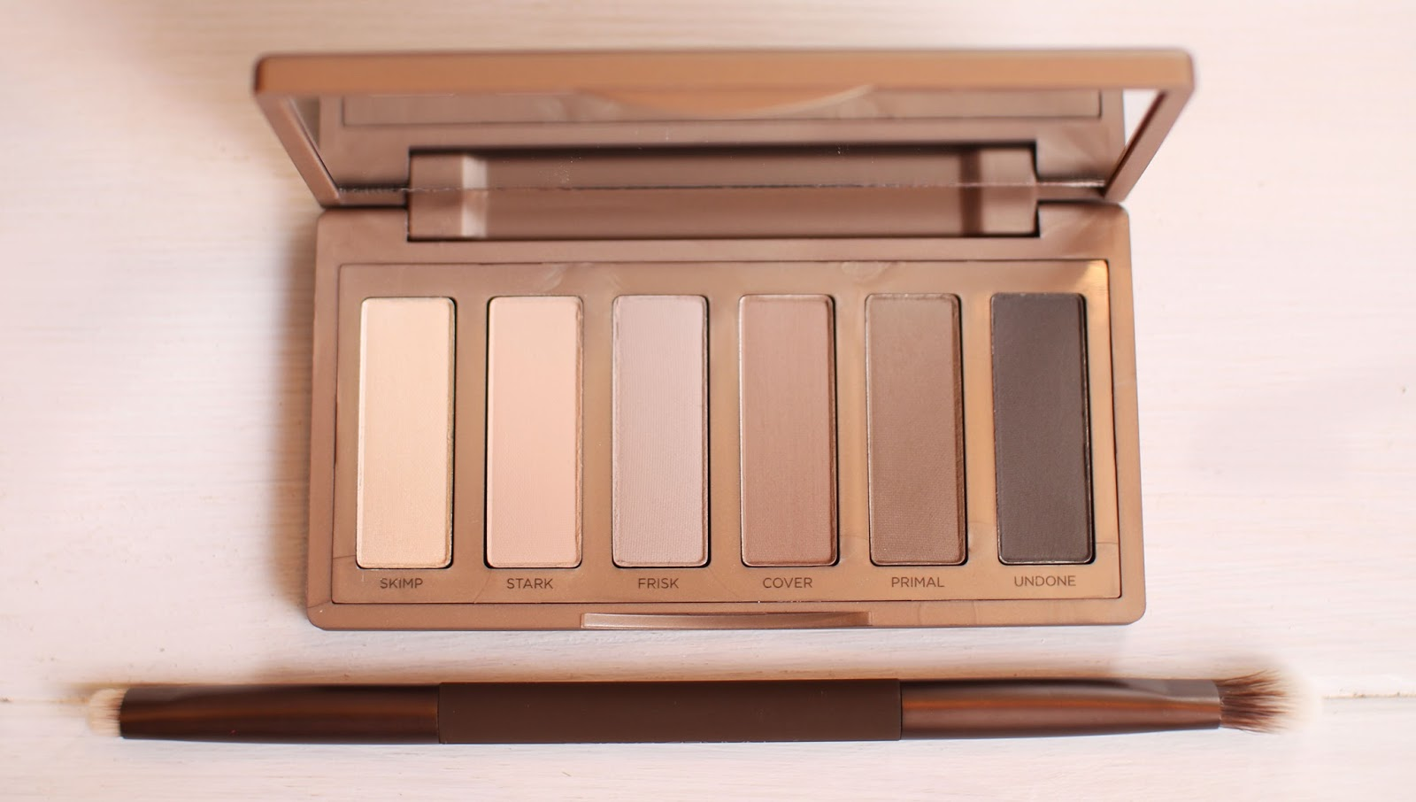 Urban Decay Naked Basics 2 and double ended brush