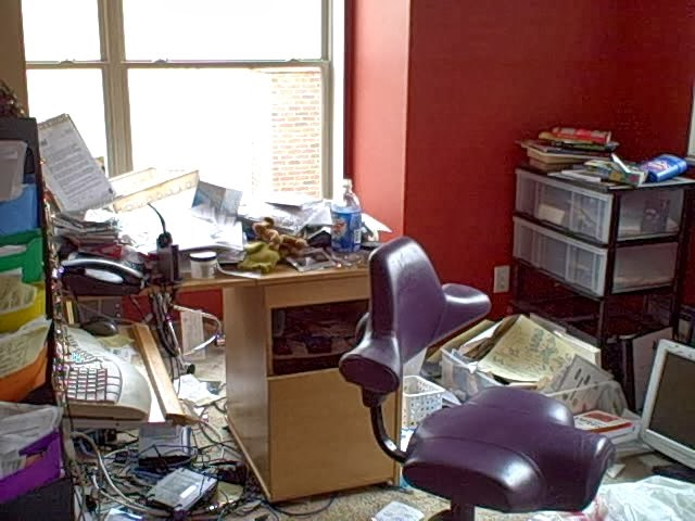 De Clutter And Organize Your Home Office