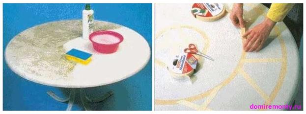 Как обновить садовый столик своими руками