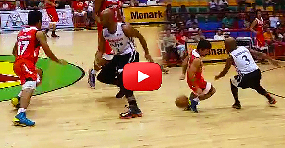 Kia Sorento's Manny Pacquiao CROSSOVER On Blackwater's Chris Timberlake (VIDEO)