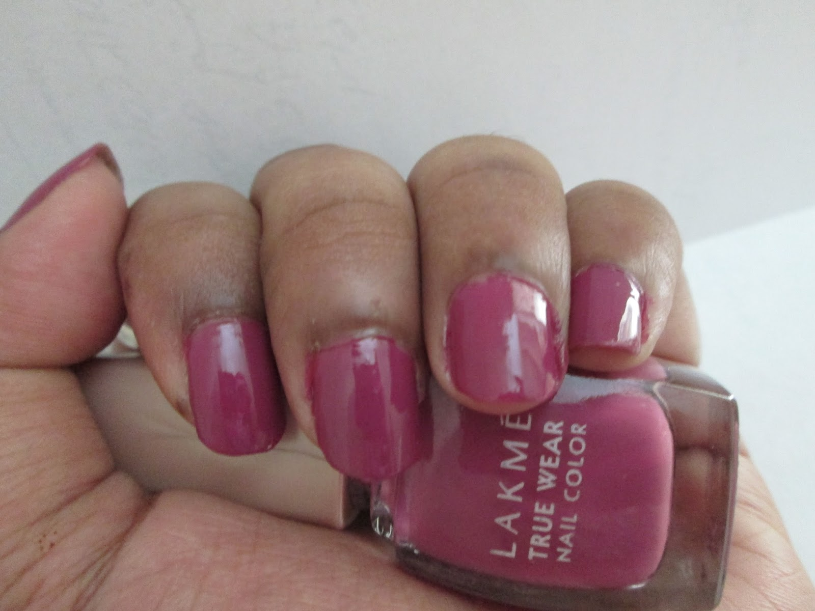 My Space For New Creations Lakme True Wear Nail Color FreeSpirit N236 Narendra Kumar Experience