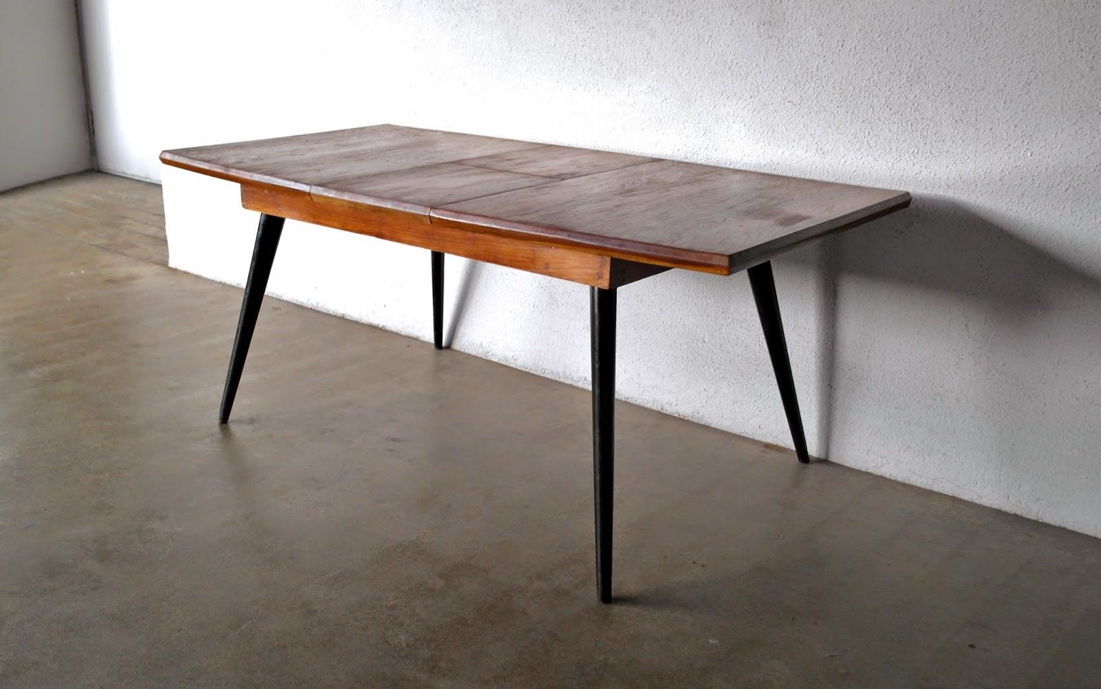 vintage 60s furniture. Vintage Midcentury 60\u0027s Extendable Dining Table In Solid Teak. 60s Furniture S