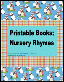 printables, early readers, nursery rhymes, image