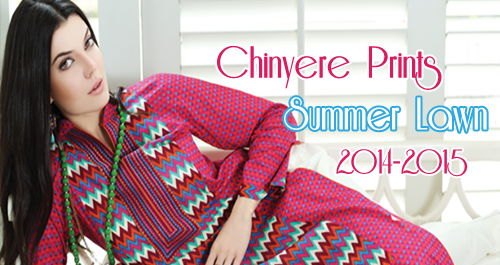 Chinyere Stitched Lawn 2014